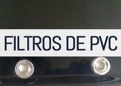 Filtros de PVC